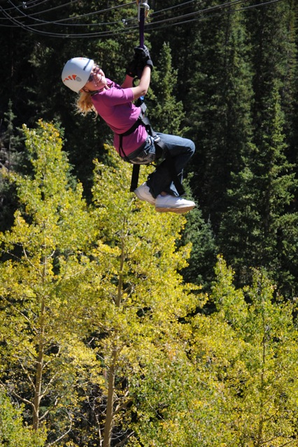 Enjoy Colorado fall to the fullest at Top of the Rockies Zip Line