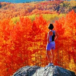 Steamboat Springs in Fall
