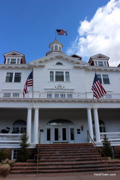 The Stanley Hotel by Heidi Kerr-Schlaefer