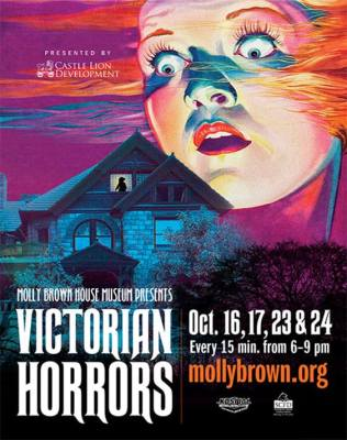 Victorian Horrors at Molly Brown House Museum poster