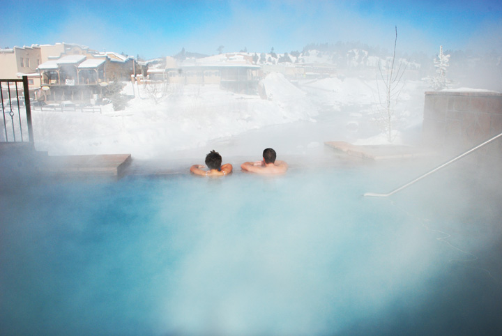 Romantic Winter Getaways in Colorado. The Springs, Pagosa Spring