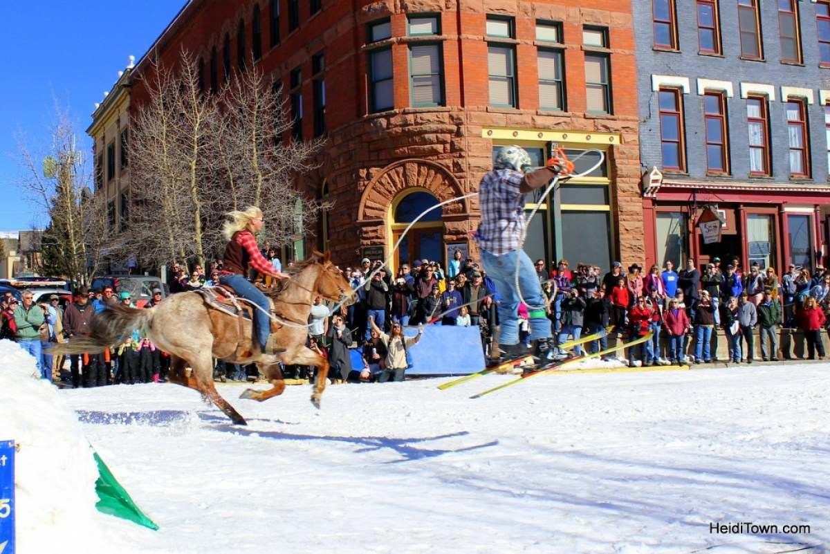 How to lift your mood during the doldrums of winter. Crystal Carnival & Skijoring Weekend in Leadville, CO. HeidiTown.com