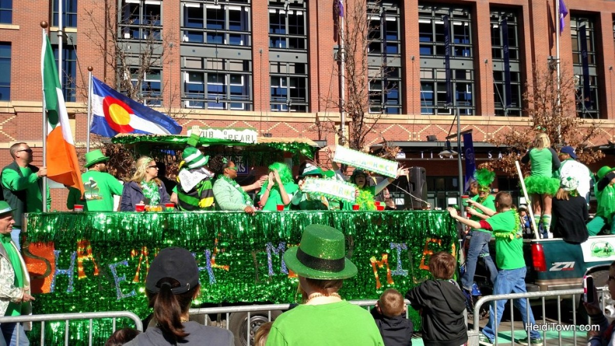 How to lift your mood during the doldrums of winter. Denver's St. Patrick Day Parade. HeidiTown.com