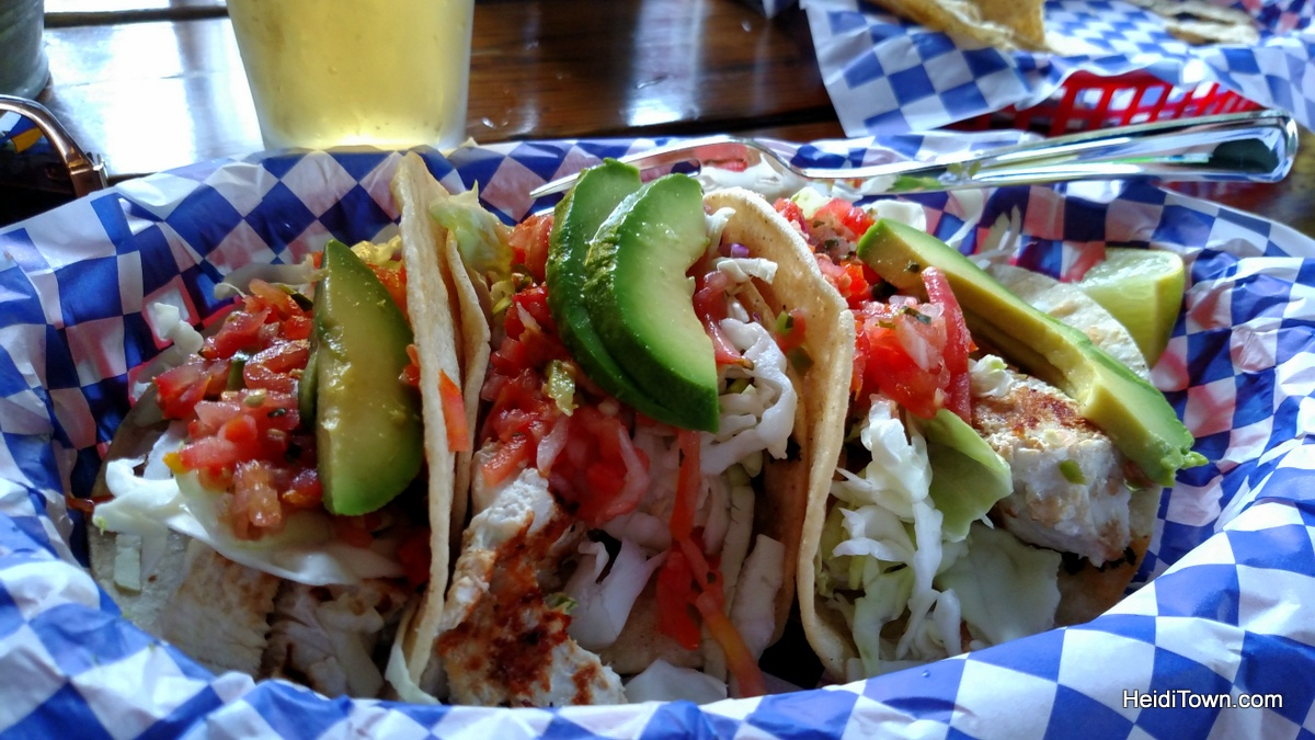 The Best Taco I Ever Ate in Colorado. Fish taco at Kip's Cantina in Pagosa Springs. HeidiTown.com