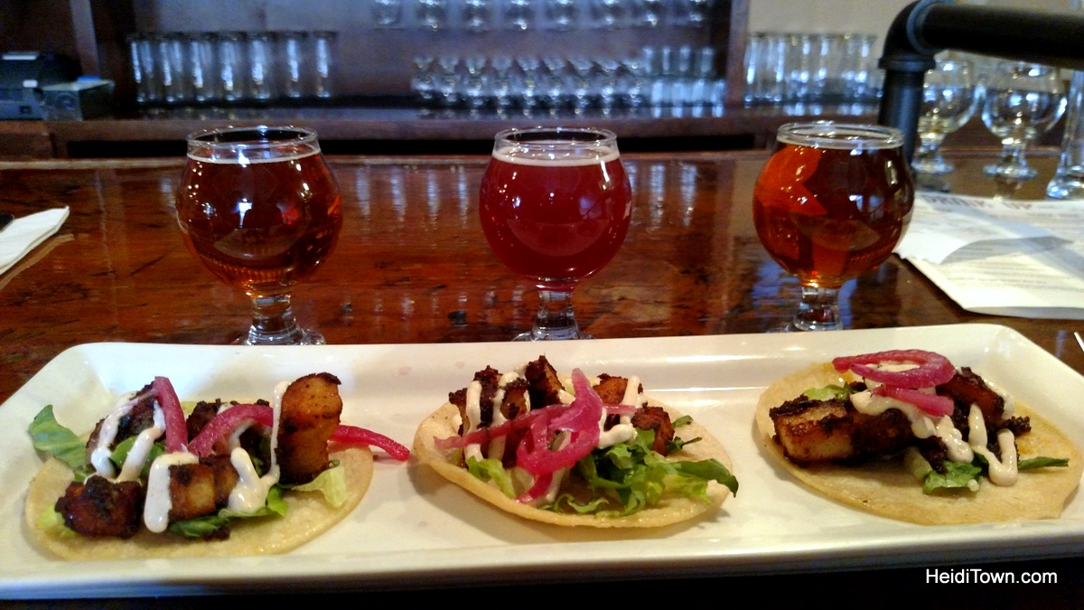 the best tacos i ever ate in colorado. Manitou Brewing Co. HeidiTown.com