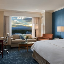 The Good Life In Cherry Creek at JW Marriott. blue room. HeidiTown.com