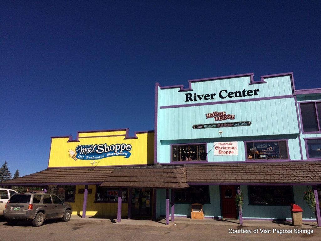 Must-stop Colorado ice cream shops. Malt Shoppe in Pagosa Springs. HeidiTown.com