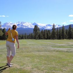 golfing Mt. Massive Golf Course in Leadville, Colorado. HeidiTown.com