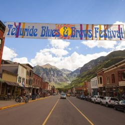 Downtown Telluride, Telluride Blues & Brews Featured Festival