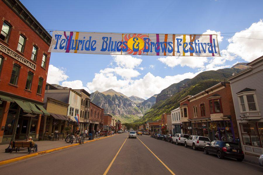 Downtown Telluride, Telluride Blues & Brews Featured Festival