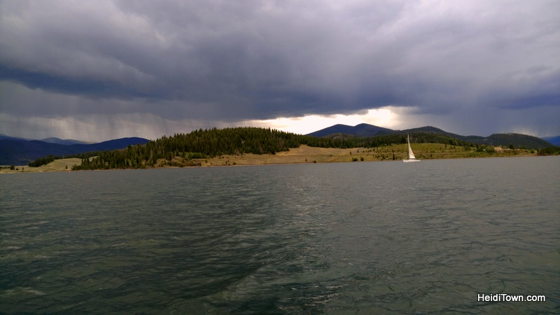 Fall in Love with Frisco, Colorado this autumn. racing the storm on Lake Dillon. HeidiTown.com