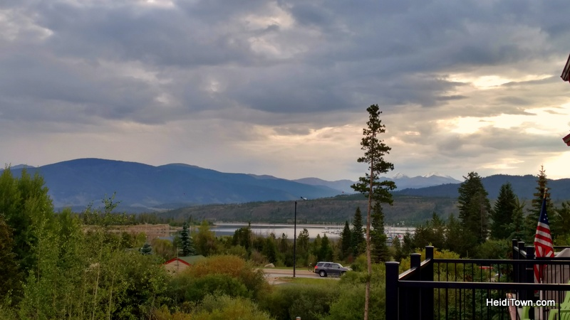 Fall in love with Frisco, Colorado this autumn. The view from our Summit Mountain Rentals Townhome patio. HeidiTown.com