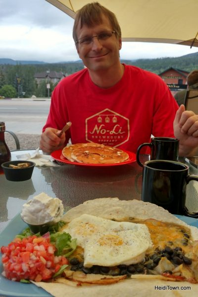 Making new traditions in the familiar town of Winter Park. Mountain Rose Cafe. HeidiTown.com