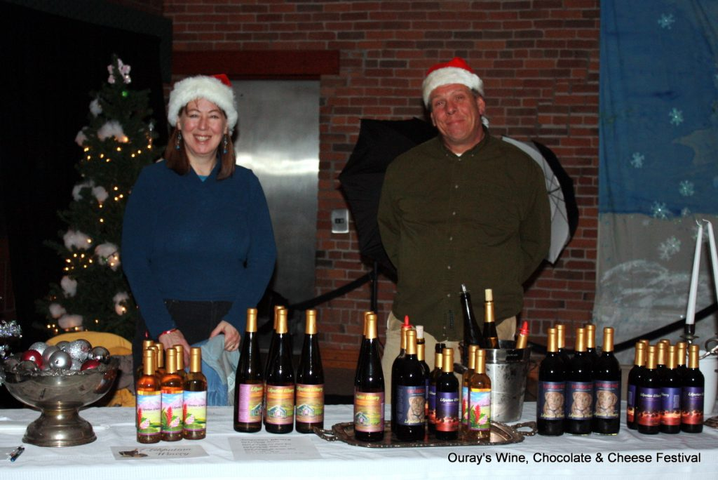 Spend Christmas in Ouray at Wine, Chocolate & Cheese Festival. HeidiTown.com