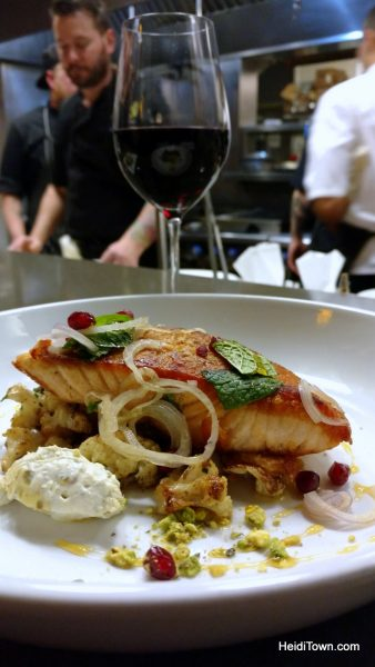 A Symphony of Food & Music on a Date Night in Denver, TAG Restaurant, salmon