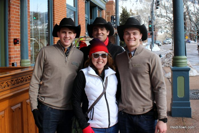 Finding the Real Aspen. The Jerome cowboys. HeidiTown.com