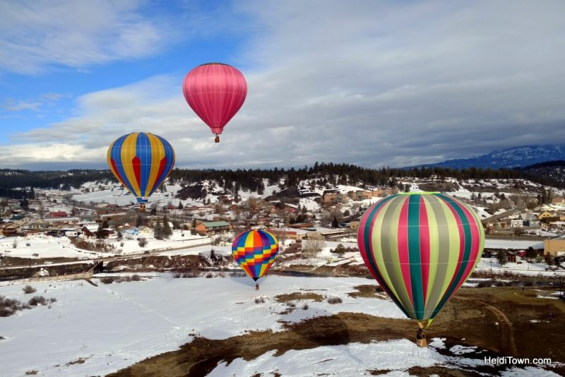 A Hot Air Balloon Ride in Pagosa Springs, Colorado with the Dickey Brothers. HeidiTown.com