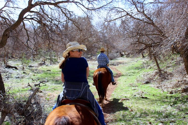 Three Comfy Colorado Cabin Getaways. Trail ride at Sylvan Dale Guest Ranch, Loveland. HeidiTown.com