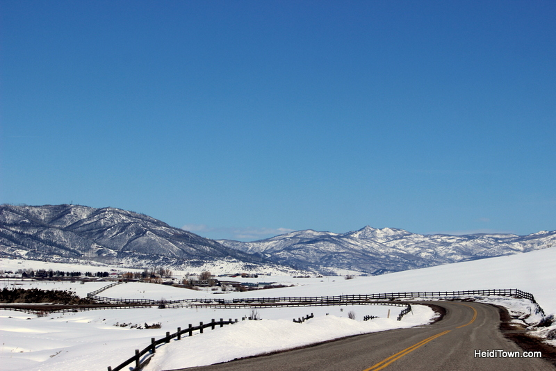 Road Trip Planning 101. A back road near Steamboat Springs, Colorado. HeidiTown.com