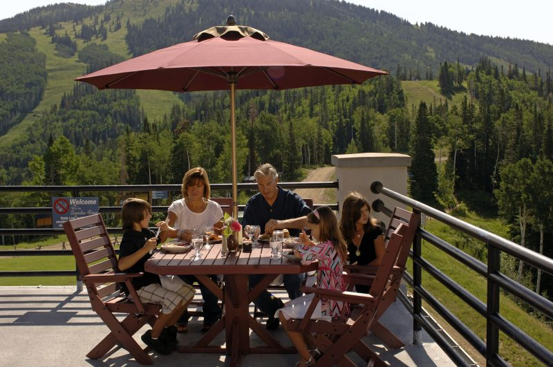 Six Reasons to Visit Steamboat Springs this Summer Brunch on the Mountain Larry Pierce Steamboat Ski Resort0