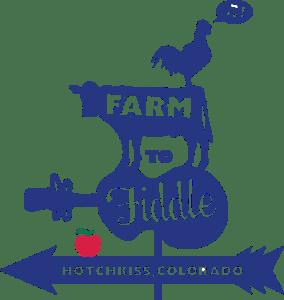 Farm to Fiddle Blue Logo
