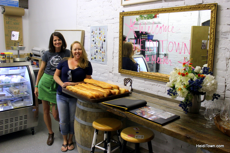Meet Me in Meeker, Part One. Blanco Cellars & The Little Cheese Shop. HeidiTown