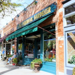 The Mayor Goes Shopping in the Choice City, Fort Collins, Colorado Perennial Gardener outside shot