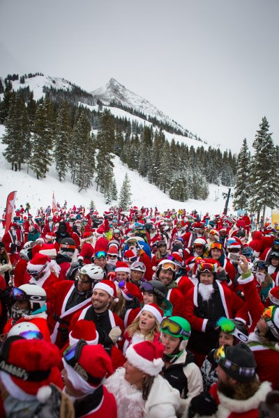 Santa Claus is Coming to Town 3 Santa Festivals in Colorado Photo Credit Crested Butte Mountain Resort