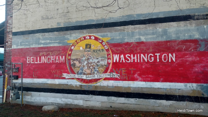 A Visit to Bellingham, Washington, the Mayor's Homeland. downtown mural HeidiTown.com
