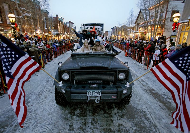 Party Hardy at These 3 Colorado Winter Festivals, Ullr Fest Parade_louie traub