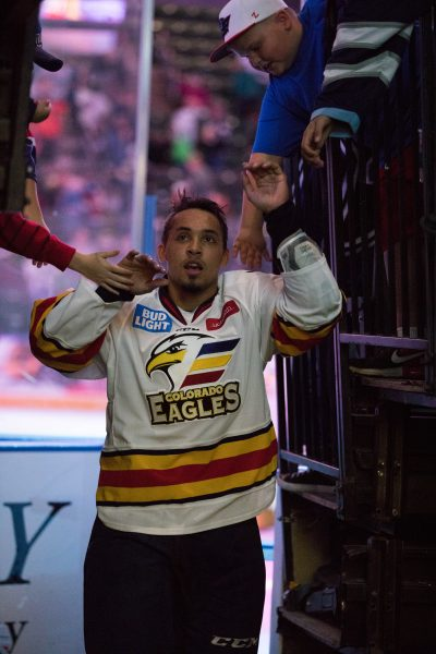 A Night Out With the Colorado Eagles, photo by JReyes