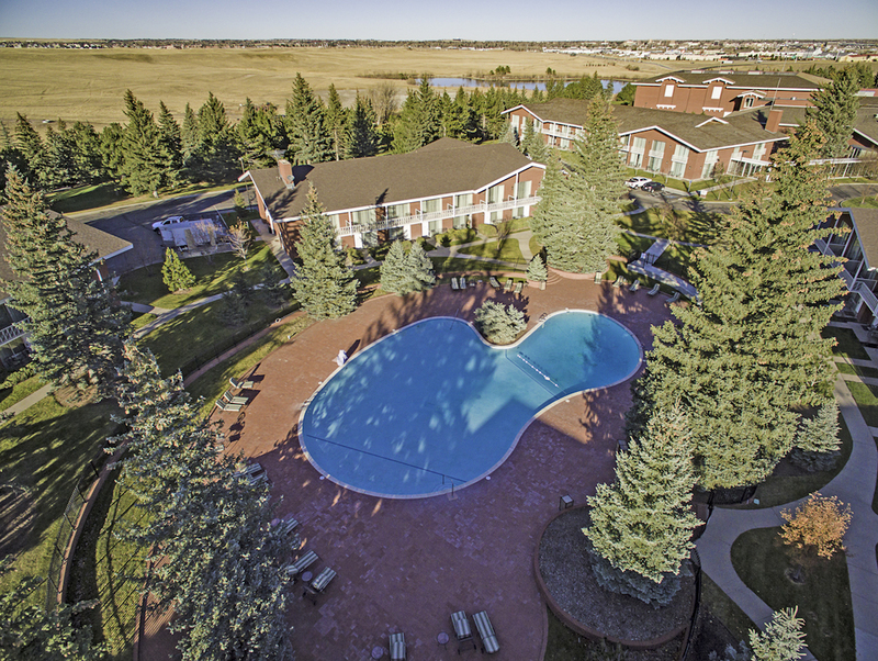Surprised by Little America Hotel & Resort in Cheyenne, Wyoming. media photo of pool. HeidiTown.com