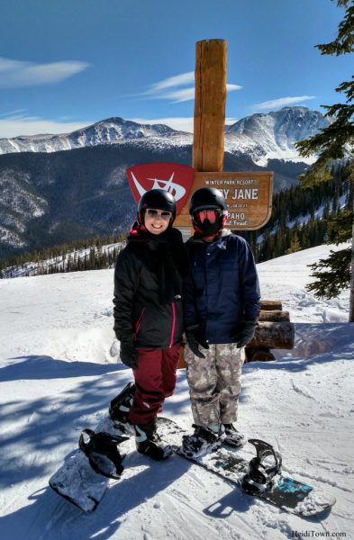 A Skier Becomes a Snowboarder on a Family Ski Weekend in Winter Park 5
