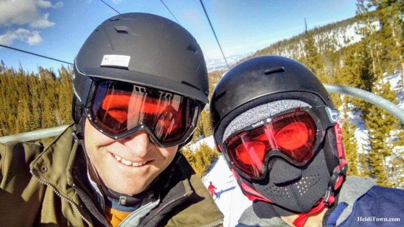 A Skier Becomes a Snowboarder on a Family Ski Weekend in Winter Park