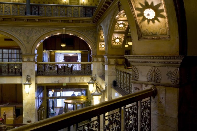 For Your Eyes Only Specials for Locals at Colorado Hotels, The Brown Palace lobby, courtesy photo