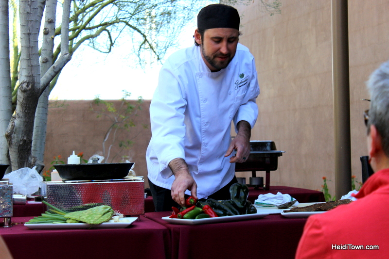Visit Another Planet Arizona's Desert Botanical Garden. Corks & Catus cooking demo. HeidiTown.com