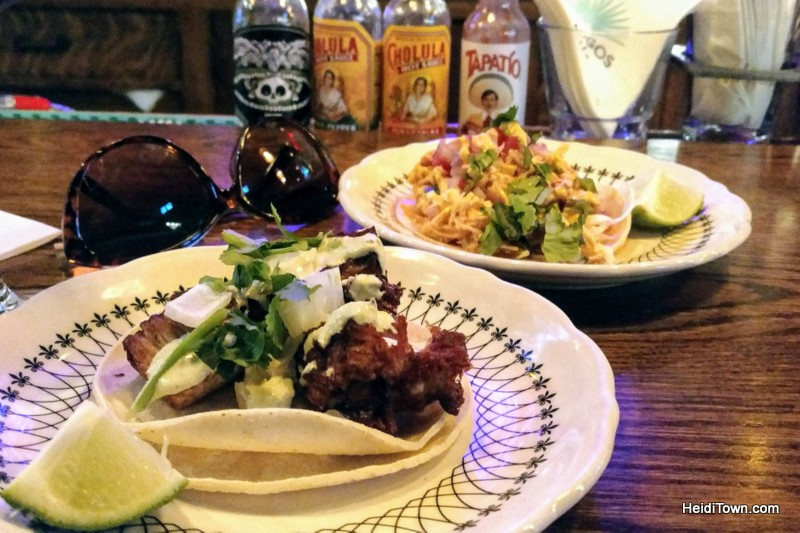 Eat All the Things A Delicious 3-Day Dining Guide to Crested Butte. Tacos at Bonez. HeidiTown.com