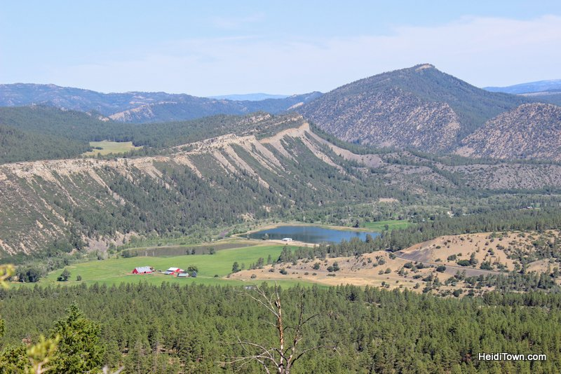 Escape the Crowds this Summer Visit a National Monument, view from the top of Chimney Rock