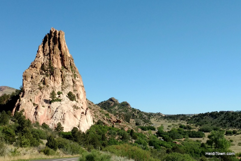 A Visit to Garden of the Gods in Colorado Springs, African Safari. HeidiTown.com
