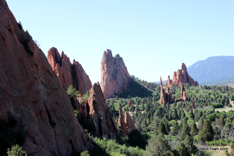 A Visit to Garden of the Gods in Colorado Springs, iconic view. HeidiTown.com