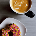 Embrace Fall in Colorado with These Outings. HeidiTown.com Coffee and Doughnut Habit Doughnut_Cred Habit