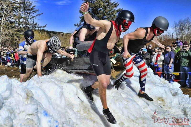 Frozen Dead Guy Days Coffin Race