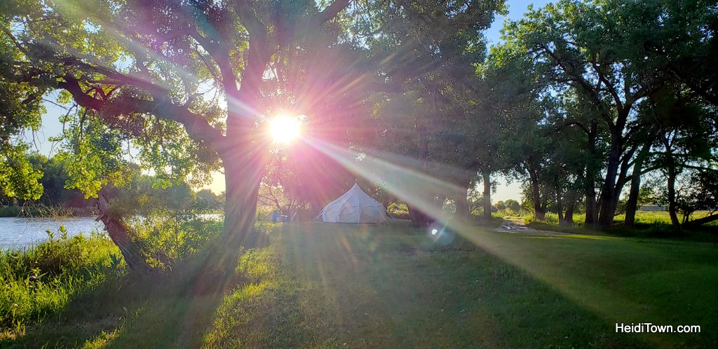 Glamping in Greeley, Colorado A Yurt Stay at Platte River Fort & Resort. HeidiTown (15)