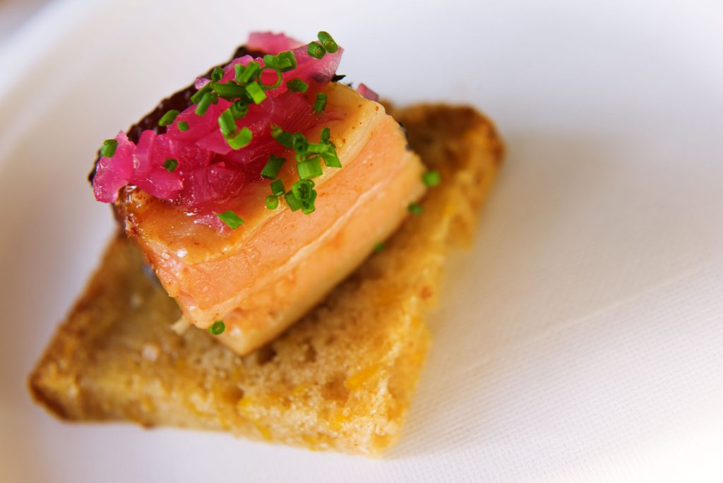 The 13 Best Bites (and Sips) at PAIRED 2019 at GABF. Photo by Castner. Pork_Belly_by_Chef_Smart
