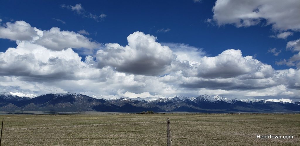 Sangre Cristo Mountains, San Luis Valley, Colorado. HeidiTown.com