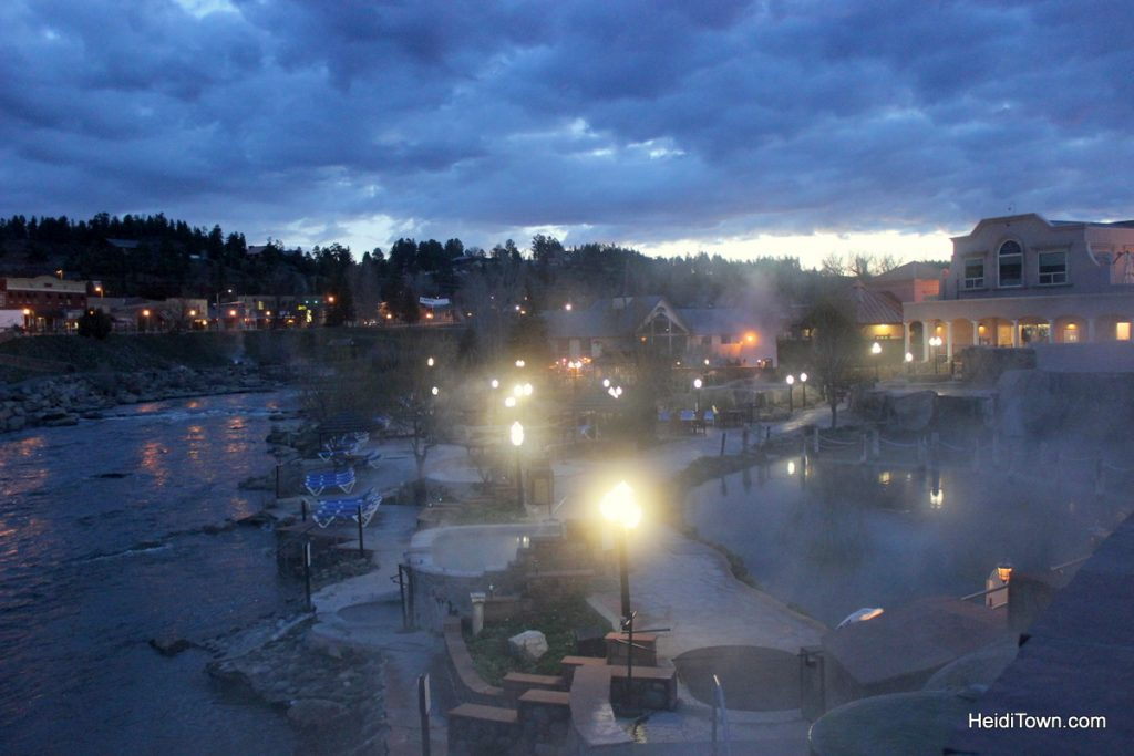 R is for Road Trip. The Springs at Pagosa Springs. HeidiTown.com