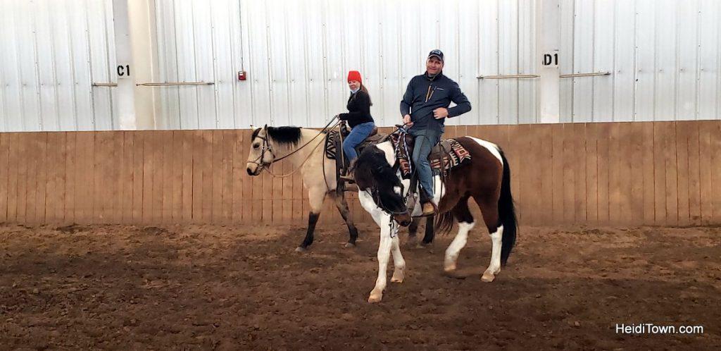 Hot Tubs & Horses at Vista Verde Ranch in Colorado. HeidiTown (2)