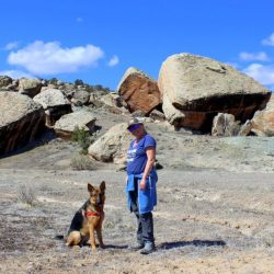 On the Road in Grand Junction, Colorado: Take a Hike with the Dog
