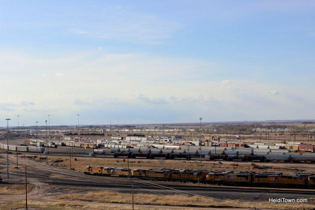 North Platte, Nebraska Trains, Trains and more Trains. Golden Spike Tower. HeidiTown (6)