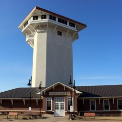 North Platte, Nebraska Trains, Trains and more Trains. Golden Spike Tower. HeidiTown (8)